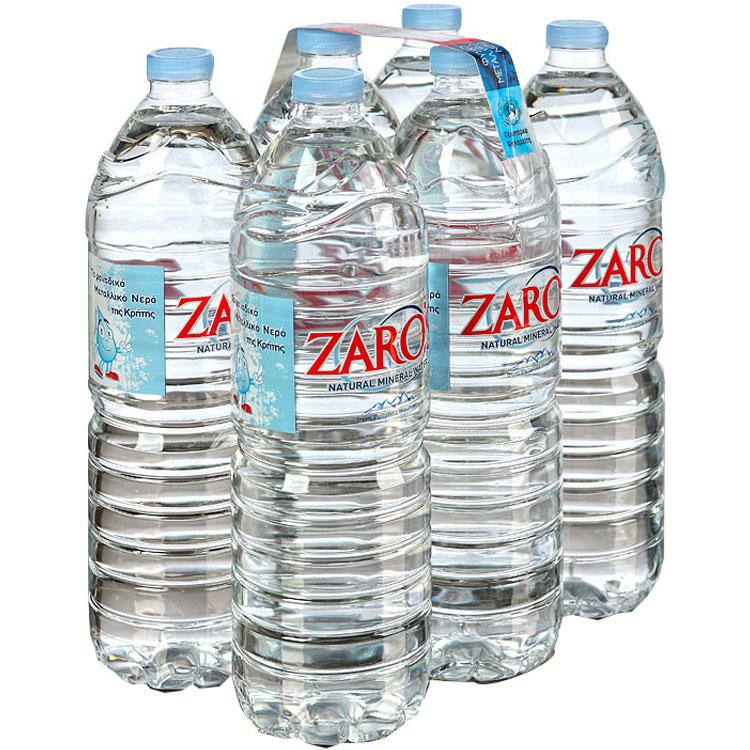 Νερό Ζαρός 1,5 Lt Pet Συσκευασία 6 φιαλών